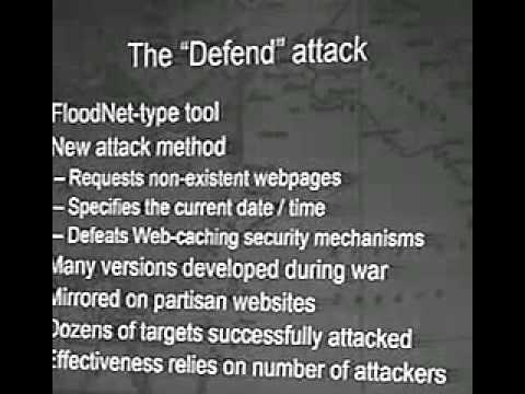 DEF CON 12 - Peter D. Feaver and Kenneth Geers, The First International Cyber War