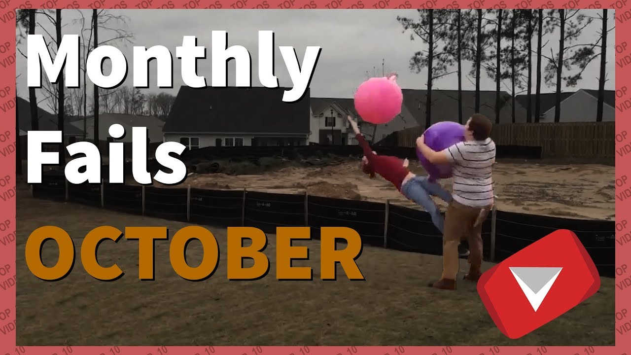 Fails Of The Month October 2017 | Exercise Ball Bonanza (TOP 10 VIDEOS)