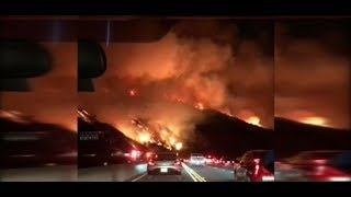 Flammendes Inferno vor Bel Air: Gigantische Waldbrände jagen nun auch die Promis aus den Villen