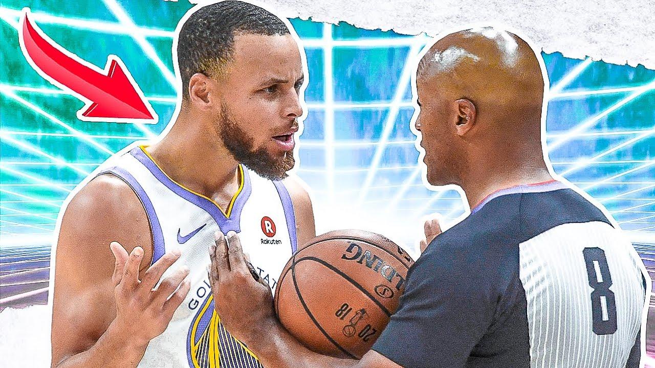 NBA Players Vs Referees: CRAZY Moments - Part 3