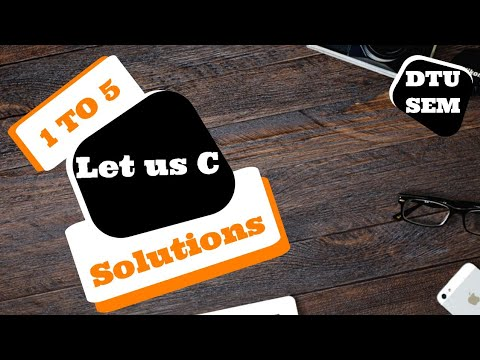 Let Us C Solutions Pdf-Let Us C Solutions 15th Edition Download Pdf|dtu Sem