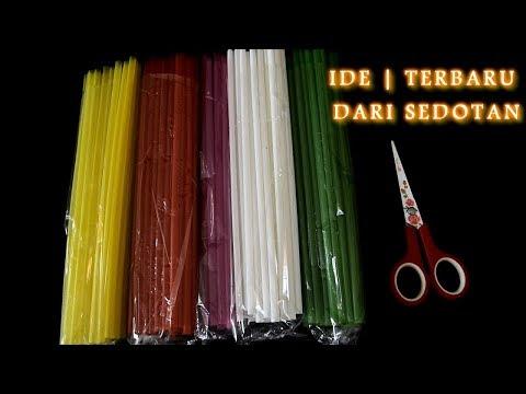 EASY!! handicrafts from straws