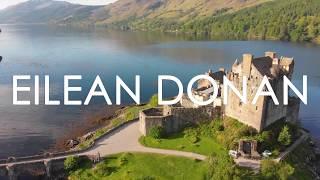 Eilean Donan Castle, Scotland | 4k Drone Video