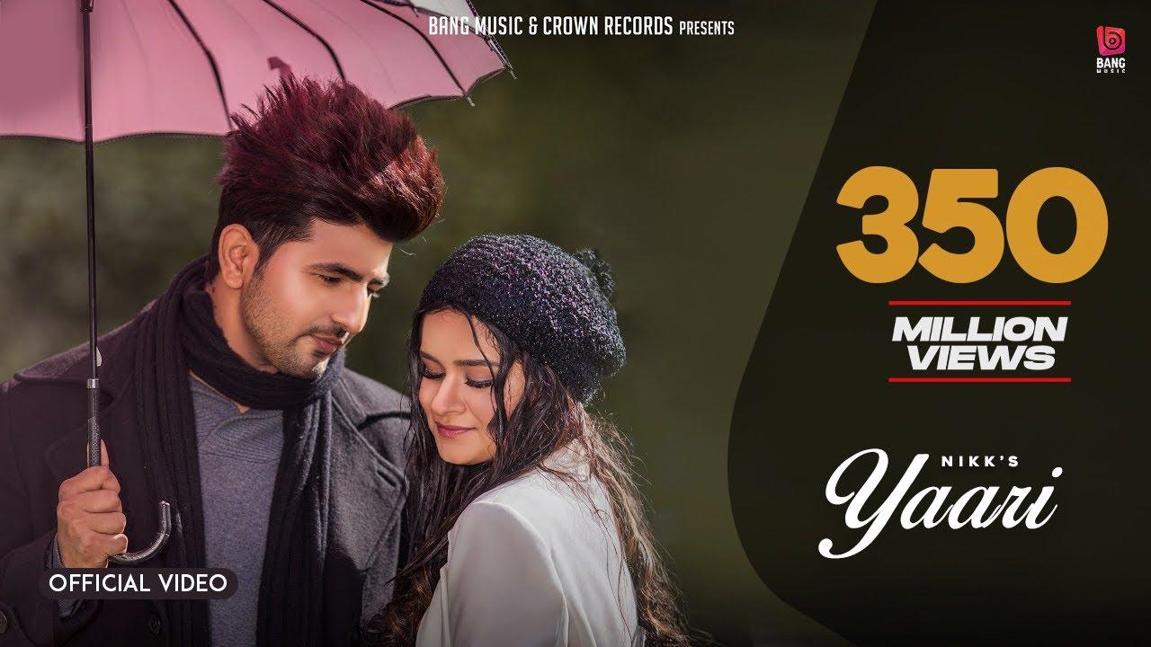 Yaari (Official Video) : Nikk Ft Avneet Kaur | Latest ...