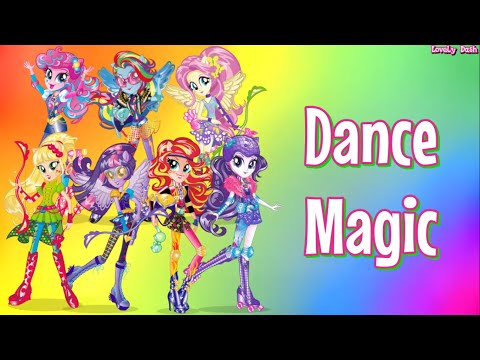Equestria Girls Friendship Games | Dance Magic (Lyrics) (+Sub Español)
