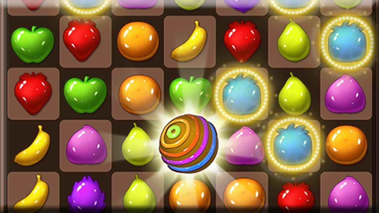 Fruit pop crush game - Fruit Sugar Splash Android Gameplay Hd