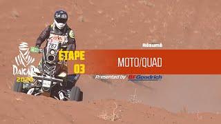 Dakar 2020 - Étape 3 (Neom / Neom) - Résumé Moto/Quad