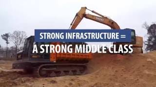 Rebuild Infrastructure and Rebuild the Middle Class!