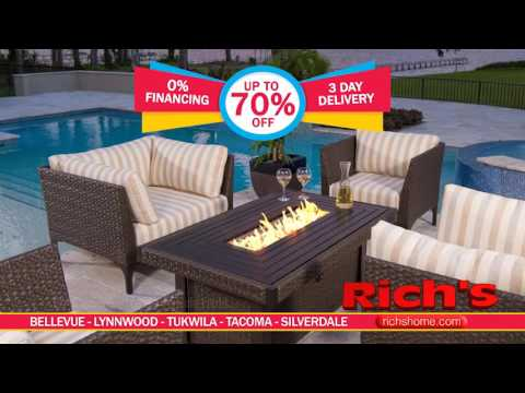 Patio Furniture Clearance Sale at Richs -