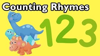How Many Seashells and More Counting Rhymes | Nursery Rhymes from Mother Goose Club!