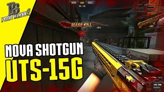 NOVA SHOTGUN UTS-15 G. Ft THOR & MASSKILL - Point Blank