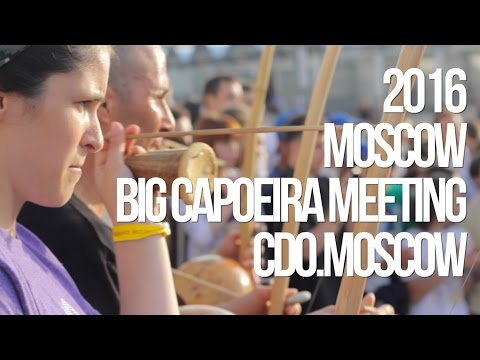 2nd Big International Capoeira Meeting in Moscow 2016