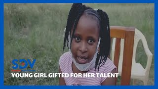Primary school pupil in Buruburu gifted after she recited a poem against land grabbing