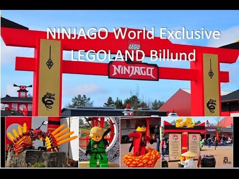 NINJAGO World Exclusive LEGOLAND Billund - NINJAGO The Ride