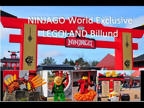 NINJAGO World Exclusive LEGOLAND Billund - NINJAGO The Ride