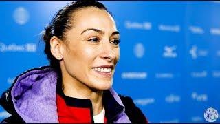 Catalina Ponor (ROU) Interview - 2017 World Championships - Podium Training