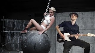 Miley Cyrus - Wrecking Ball (Mister Q Rock Cover) - Official Music Video - Download on iTunes !