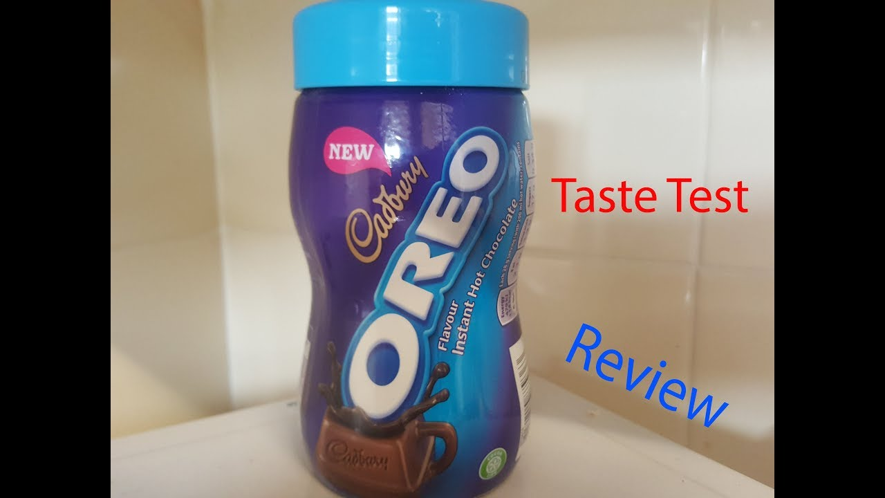 Cadburys Oreo Hot Chocolate Review