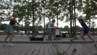 Street-Performer Cesar from Paris @Berlin Mauerpark 05.07.2015 part 1/3