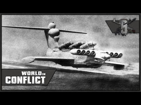 Ekranoplan Norway Invasion - World in Conflict - Mission 11 (USSR)