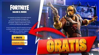 Salvar El Mundo TOTALMENTE GRATIS! En FORTNITE - ¡MÉTODO LEGAL! 100% REAL (FUNCIONANDO)