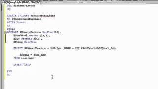 Tutorial Ejemplo Trigger en SQL Server 2008 R2 - (tema 4)