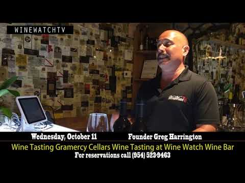 Gramercy Cellars Wine Tasting at Wine Watch Wine Bar - click image for video