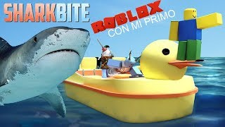 Roblox With my cousin, Shark!!!