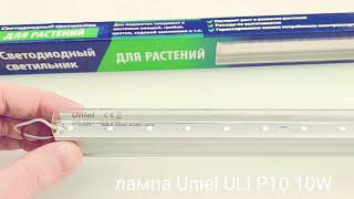 Фитолампа Uniel P10 10W \\ Покупать или нет? Обзор и тест китайской лампы для растений