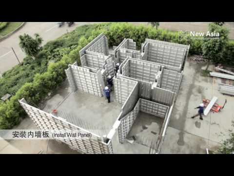 New Asia Aluminium Formwork (Installation part)