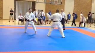 Ono Ryutaro JPN (Aka) v Sonny Roberts GBR (Shiro) - Semi Final