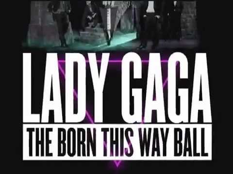 Lady Gaga - The Born This Way Ball Tour - Jakarta Television Commercial