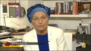 Emma Bonino: Sta vincendo l