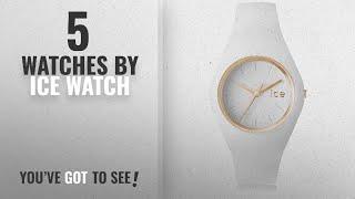 Top 10 Ice Watch Watches [2018]: Ice-Watch Analog White Dial Women's Watch-ICE.GL.WE.U.S.13