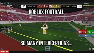 Roblox Football | SO MANY INTERCEPTIONS