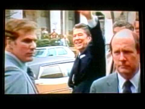 President Reagan Assassination Attempt In Detail- compare to The Kennedy Detail, Clint Hill