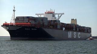 Największy kontenerowiec świata w gdańskim porcie. Kolos wpłynął do DCT