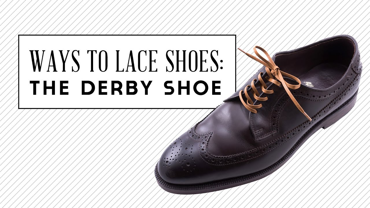 How To Put In Shoelaces For Dress Shoes