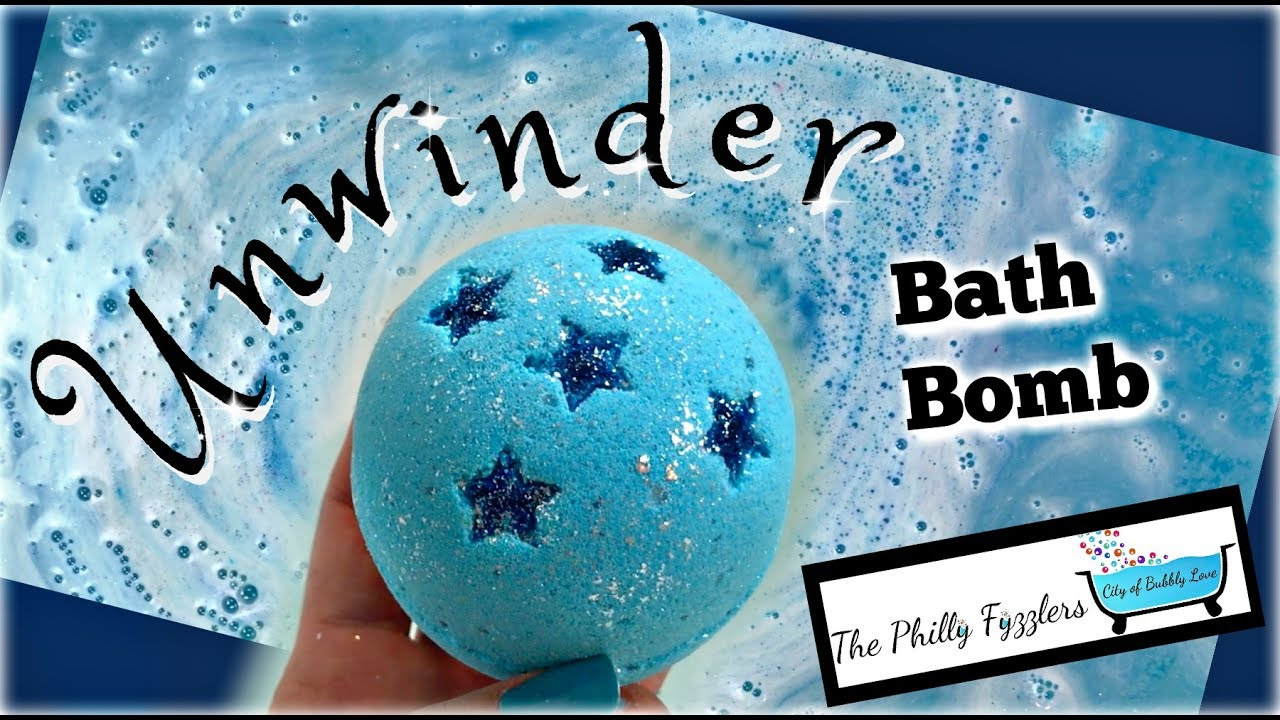 "THE PHILLY FYZZLERS – ""Unwinder"" Bath Bomb Demo & Review in Jetted ..."