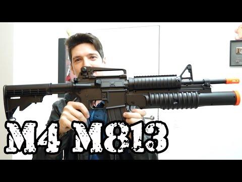 M4 M813 AEG / SHOTGUN + Torneio no Maranhão Luiz Rider Brasil