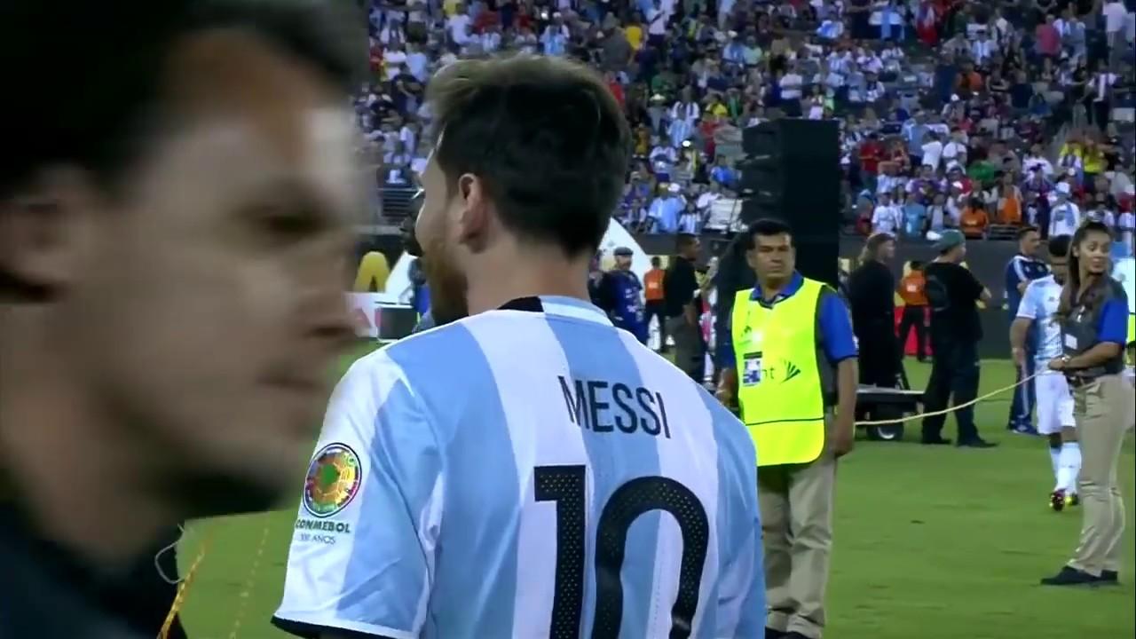 Аргентина - Чили 0:0 (пен. 2:4) видео