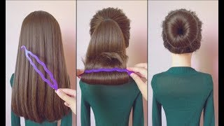 Top 10 amazing hairstyles ♥️ Hairstyles Tutorials ♥️ Easy hairstyles with hair tools Part 4