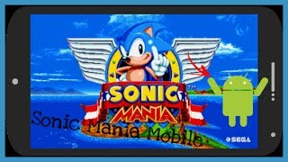 Sonic mania android title screen alpha test videos / Page 3