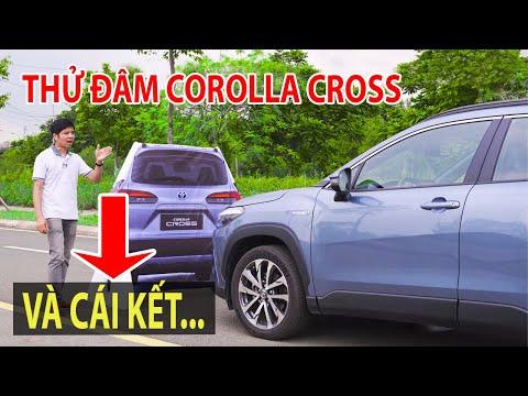 Thử đâm Toyota Corolla Cross vào xe khác và xem cái kết... | TIPCAR TV