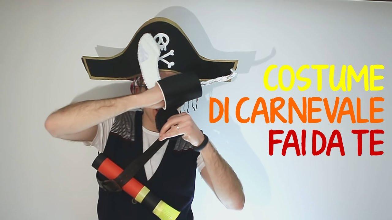 Super Costumi di Carnevale per bambini fai da te: pirata -1 parte - YouTube JU27