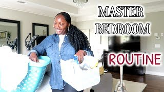 MASTER BEDROOM | DAILY CLEANING ROUTINE | CLEAN WITH ME