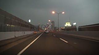 太子龍野・姫路・加古川バイパス→第二神明→阪神高速神戸線→環状線 全線等速