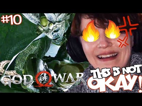 God of War (Part 10) THIS IS HARD! TIME TO SPARTAN RAGE!
