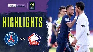 PSG 0-1 Lille   Ligue 1 20/21 Match Highlights