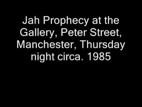 Jah Prophecy, Thursday night at The Gallery, Manchester, circa.1984